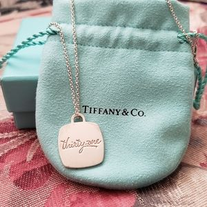 Tiffany & Co Thirty-One Necklace 2014